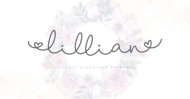 Lillian Script [2 Fonts] | The Fonts Master