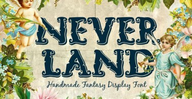 Neverland [2 Fonts] | The Fonts Master