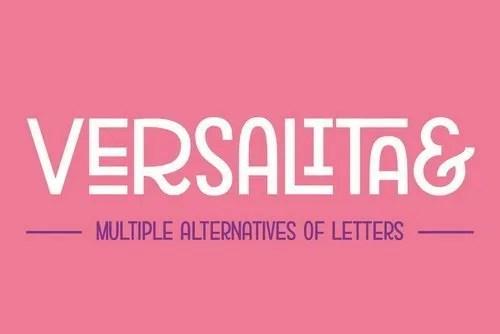 Versalita [1 Font]   The Fonts Master