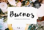 Its Buenos Script [1 Font] | The Fonts Master