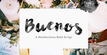 Its Buenos Script [1 Font]