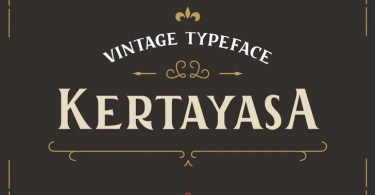 Kertayasa [10 Fonts] | The Fonts Master