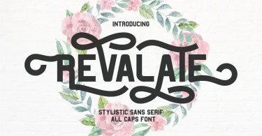 Revalate [1 Font] | The Fonts Master