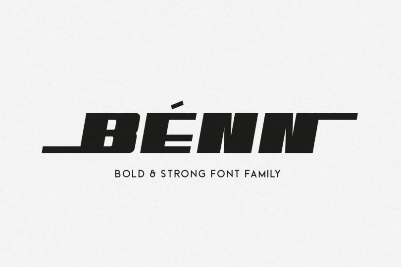 Benn [8 Fonts]   The Fonts Master