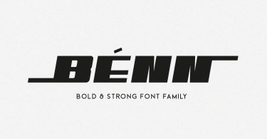 Benn [8 Fonts] | The Fonts Master