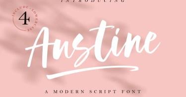 Austine [2 Fonts]