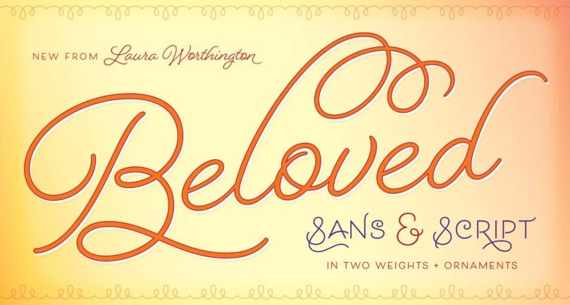 Beloved [5 Fonts] | The Fonts Master