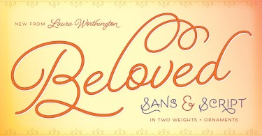 Beloved [5 Fonts]