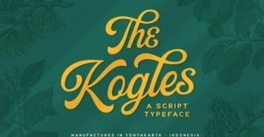 The Kogles Script [1 Font] | The Fonts Master