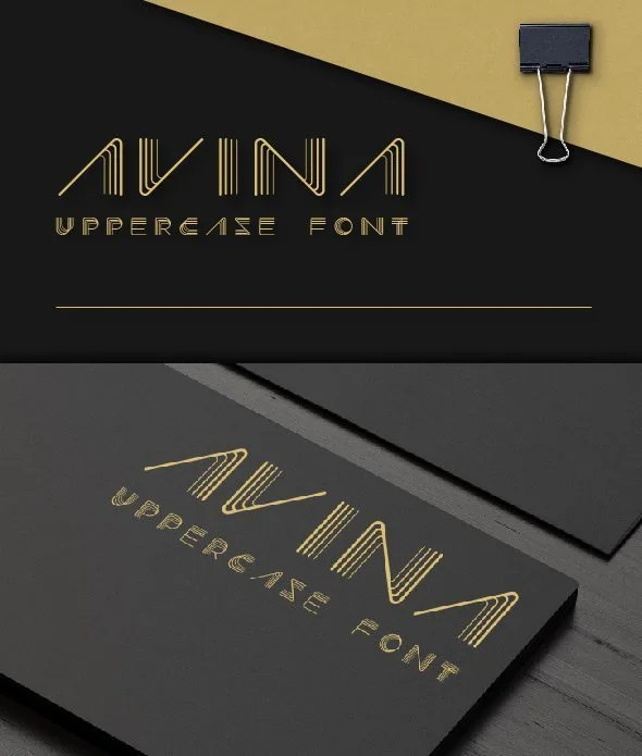 Avina [1 Font] | The Fonts Master