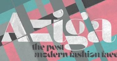 Aziga [1 Font] | The Fonts Master