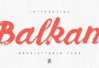 Balkan Script [1 Font] | The Fonts Master