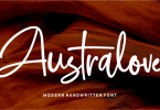 Australove [2 Fonts] | The Fonts Master