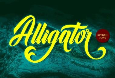 Alligator [1 Font]