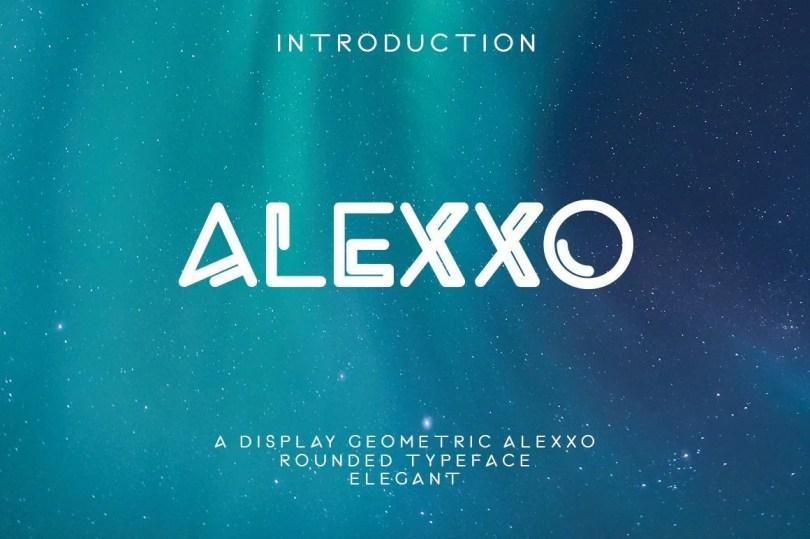 Alexxo [2 Fonts] | The Fonts Master