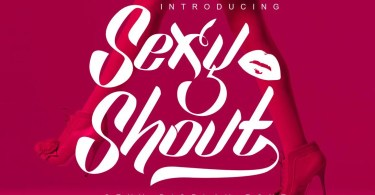 Sexy Shout [5 Fonts] | The Fonts Master