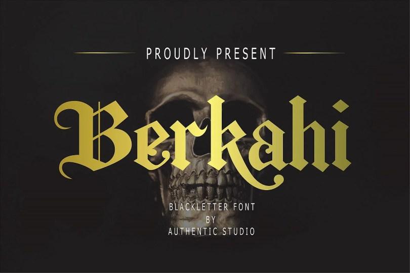Berkahi [1 Font] | The Fonts Master