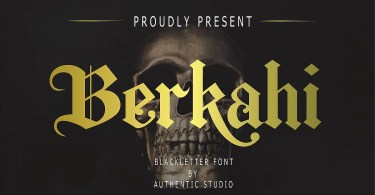 Berkahi [1 Font] | The Fonts Master