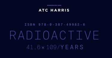 Atc Harris [12 Fonts] | The Fonts Master
