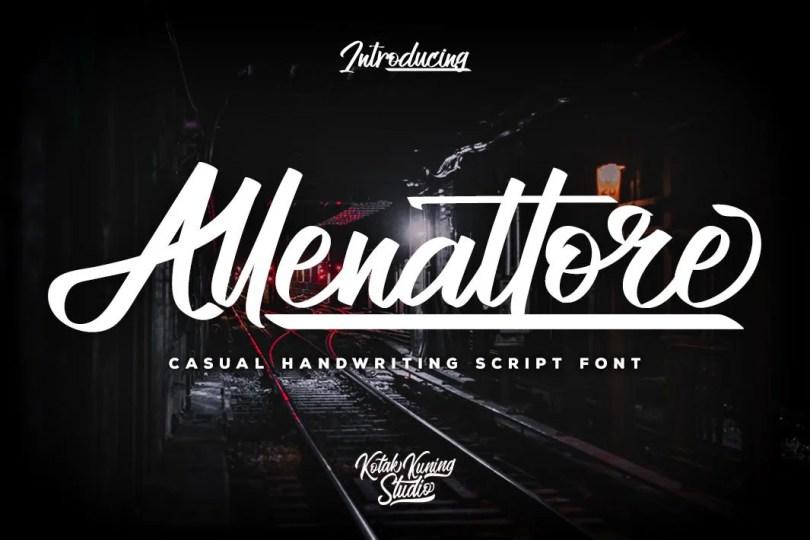 Allenattore [1 Font] | The Fonts Master