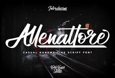 Allenattore [1 Font]