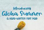Aloha Summer [1 Font] | The Fonts Master