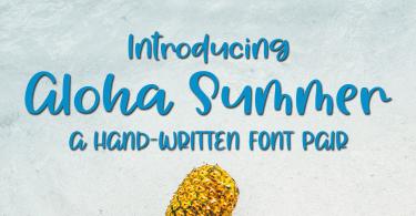 Aloha Summer [1 Font]