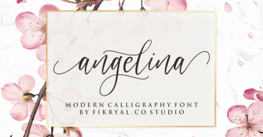 Angelina [1 Font] | The Fonts Master