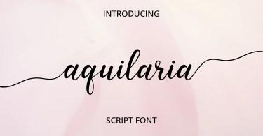 Aquilaria [1 Font]
