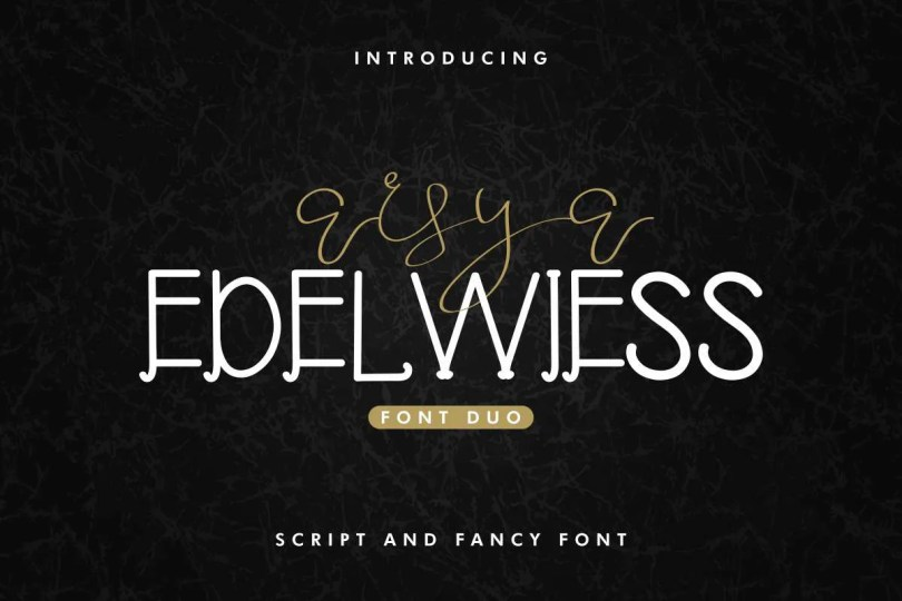 Arsya Edelwiess [2 Fonts]   The Fonts Master