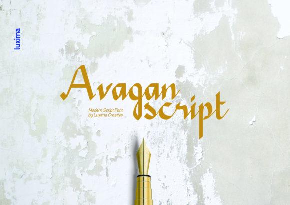 Avagan [1 Font] | The Fonts Master