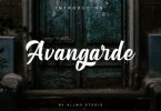 Avangarde [1 Font] | The Fonts Master