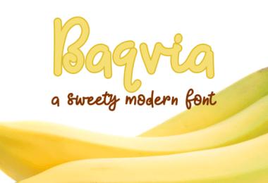 Baqvia [1 Font]