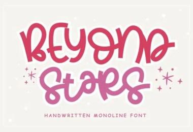 Beyond Stars [1 Font]