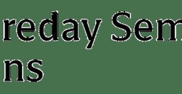 Foreday Semi Sans Super Family [12 Fonts]   The Fonts Master