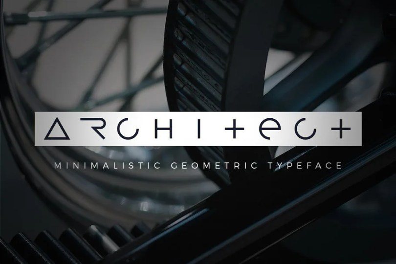 Architect [1 Font] | The Fonts Master