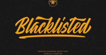 Blacklisted [1 Font]
