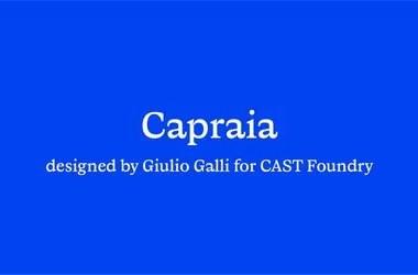 Capraia Super Family [14 Fonts]