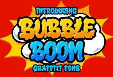 Bubble Boom [1 Font]