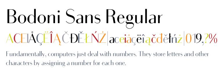 Bodoni Sans Super Family [20 Fonts] - The Fonts Master