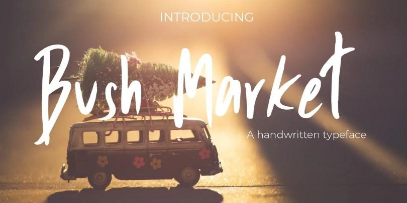 Bush Market [1 Font]
