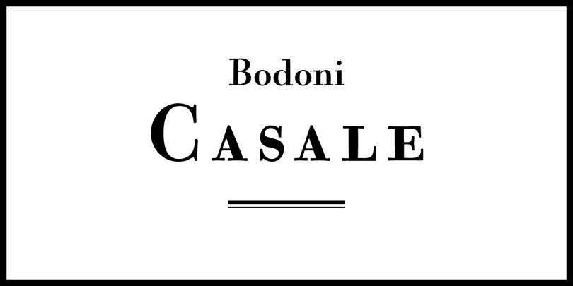 CAL Bodoni Casale Super Family [14 Fonts]