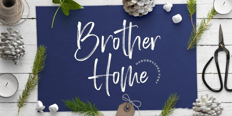 Brother Home [1 Font]