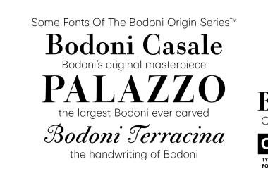 CAL Bodoni Palazzo Super Family [1 Font]