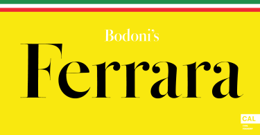 CAL Bodoni Ferrara Origin Super Family [10 Fonts]