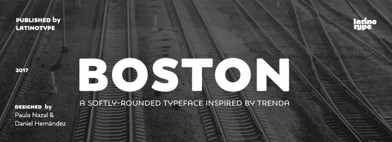 Boston Super Family [16 Fonts]