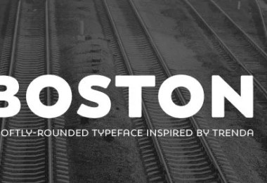 Boston Super Family [16 Fonts]