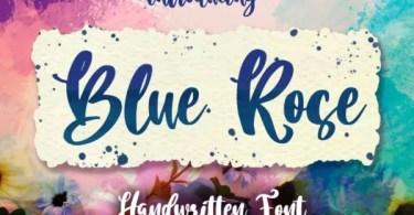 Blue Rose Script [1 Font] | The Fonts Master