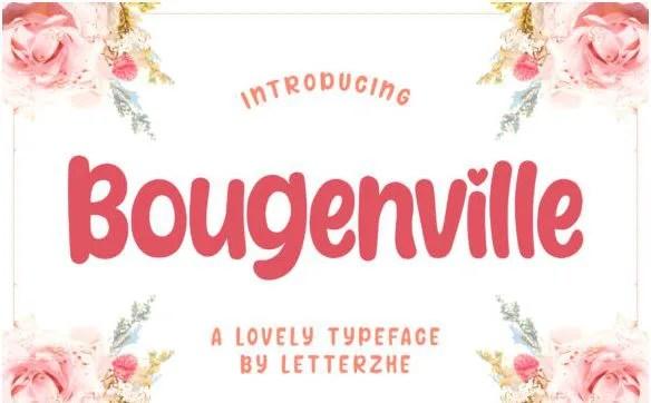 Bougenville [1 Font]