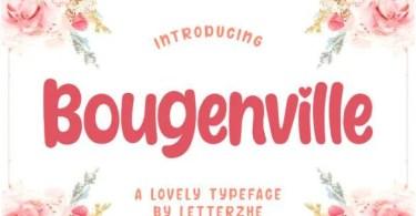 Bougenville [1 Font] | The Fonts Master